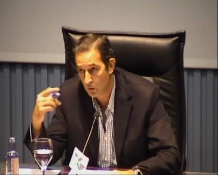 Marco Antonio Fernández Piñeiro, Secretario territorial da Xunta de Galicia en Ourense - Xornadas sobre o Rexistro de Parellas de Feito de Galicia